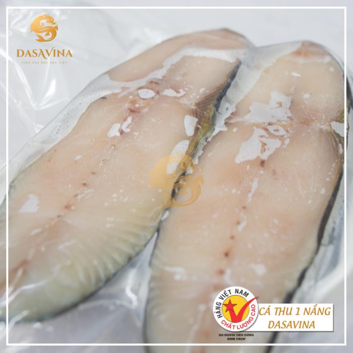 Cá thu một nắng Bá Kiến được bảo quản đúng cách, an toàn vệ sinh thực phẩm